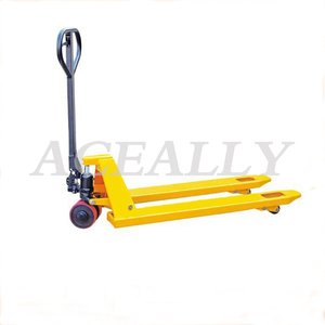 Good China 2 T/ 3 T Customized 2-3 tons PU wheel Manual Forklift/Hand Pallet Truck