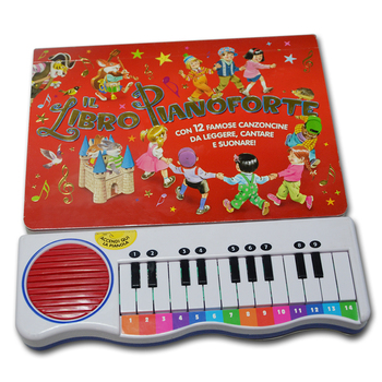 melody piano sound pad for kids learning toy music books
