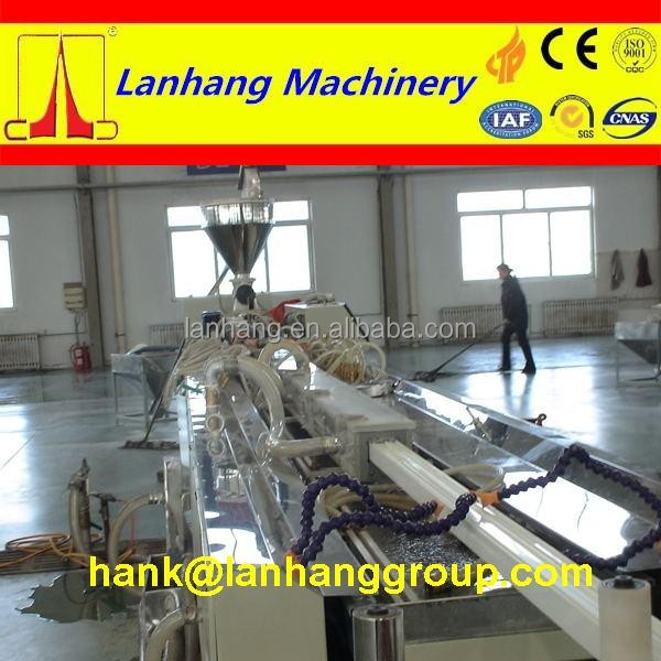 Wood Plastic WPC Processed and Double/Twin-screw Screw Design plastic extruder machine