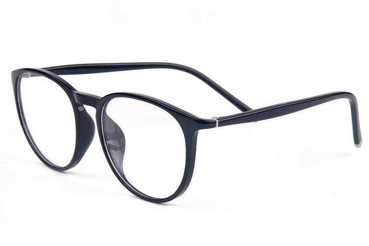 5cabd14d53 Moda Ultra ligero redondo óptico marco borde completo gafas con estilo para  las mujeres anteojos recetados