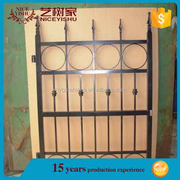 2016 Latest Produccts Simple House Wrought Iron Main Gate Designs ...