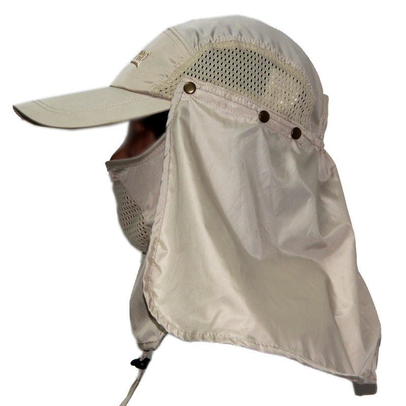 45e742696ca 360 Degree Sun And Uv Protection Removable Flap Jungle Hat