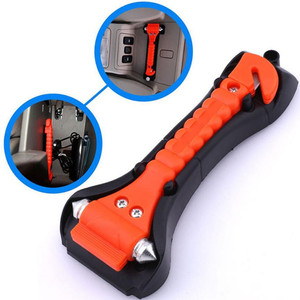 Emergency Escape and Rescue Hammer With Seatbelt Cutter Safety Hammer Multifunction