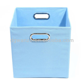 Charmant Blue Square Fabric Storage Box With Eyelet   Buy Best Popular Blue Square  Fabric Storage Box With Eyelet,Fabric Lined Storage Boxes For ...