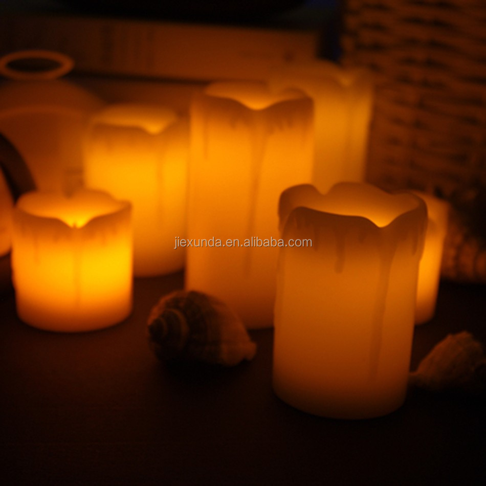 Romantic Led Electronic Flameless Candle Lights Remote Control Simulation Flame Flashing Lamps Cozy Household Decoration