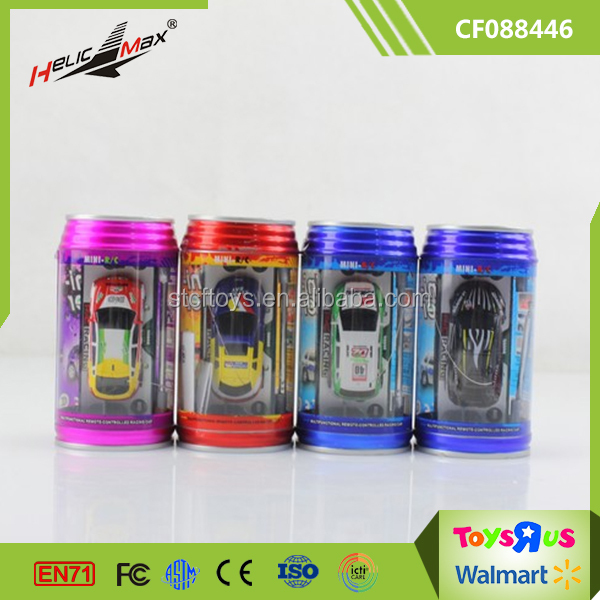 Promotional Small Model Car RC 1 63 Scale Coke Can Mini Remote Control Cars