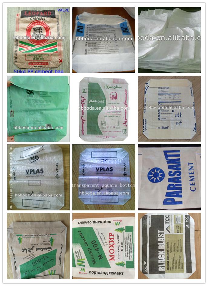 10-100kg Block Bottom Pp Bag For Sugar,Salt,Flour,Starch On ...