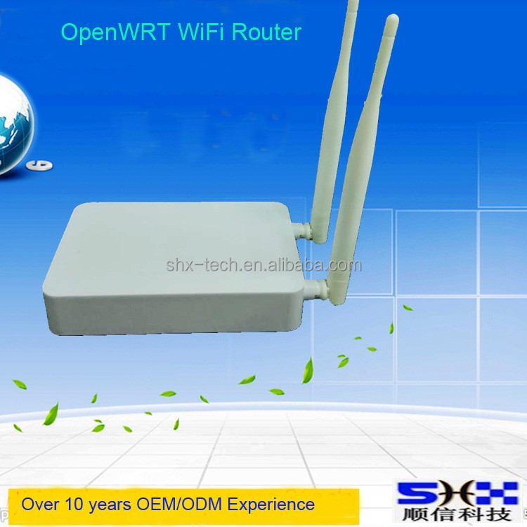 802.11ac dual band 2.4G & 5.8G wireless router, high power, 750Mbps openwrt router, MT7620A
