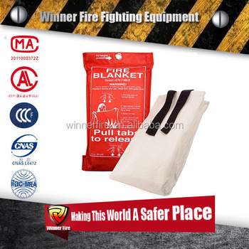 CE EN1869:1997 fire blanket for fire fighting extinguisher