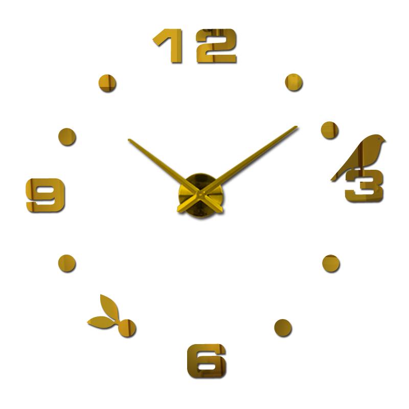 achetez en gros m tal horloge murale chiffres romains en. Black Bedroom Furniture Sets. Home Design Ideas
