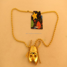 New design hot sales cheap plastic carnival party necklace with clown mask