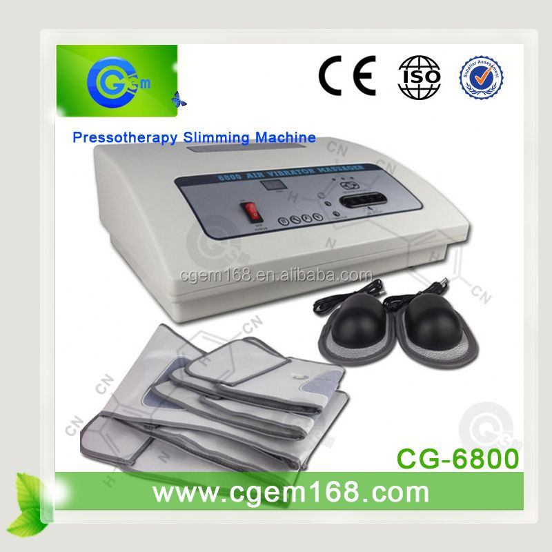 CG-6800 most up-to-date equipment! Professional pressotherapy beauty device for slimming