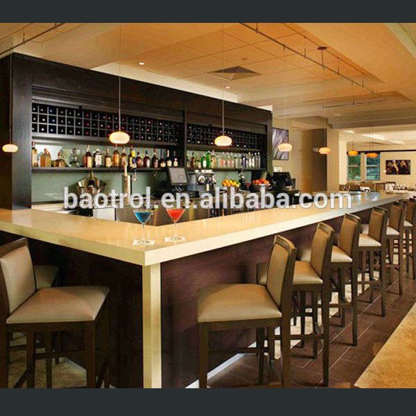 Classic Style Bar Furniture Bar Counters Design Wood Mini