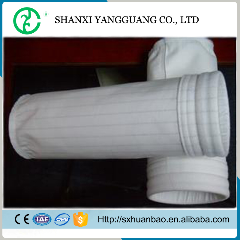 Dust collector machines fiberglass fabric filter bag for woodworking