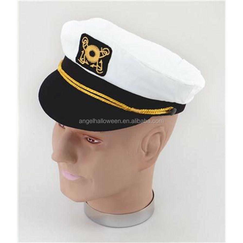 Adult Captain Hat Navy Cap Blue Captains Ship Sailor Mens Womens NH4041 7273057f7457