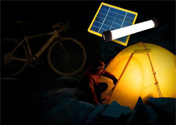 Gros chine led rechargeable torche solaire jardin lampe décorative ...