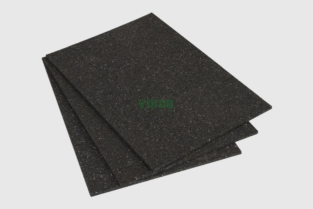5mm Rubber Shock Absorbing Pad Mat For Work Gym Hotel