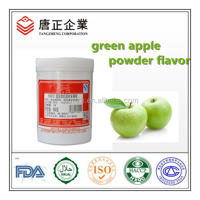 Green Apple Powder Flavor For Instant Drink Powder