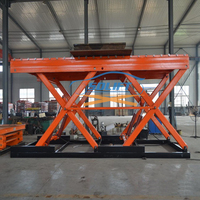 Heavy duty electric scissor hydraulic sheet metal lifting equipment with CE