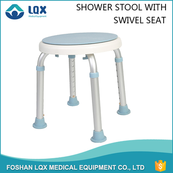 Medical Swivel Seat Swivel Shower Chair Rotates 360 Degrees For ...