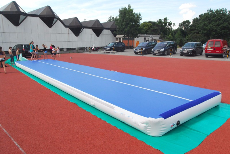 Plastic dance floor inflatable race track my order