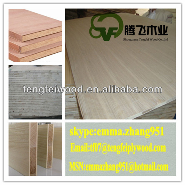 1220mm*2440mm fancy veneer blockboard