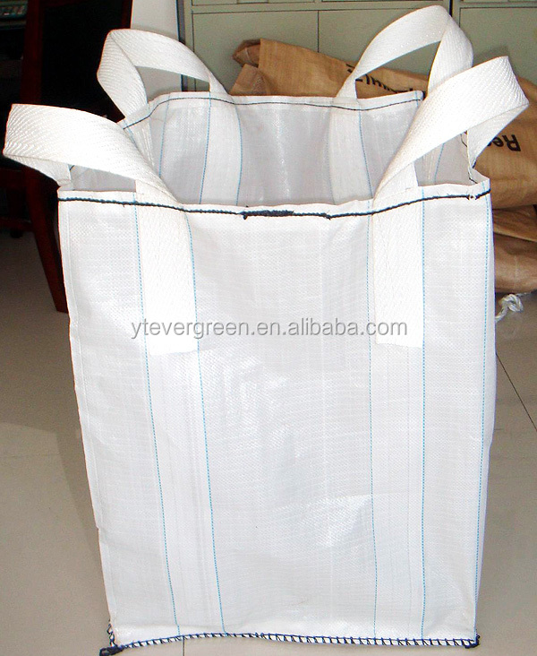 Cheap PP woven baffle fibc ton bag / baffle jumbo bag made in China