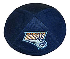 NBA Men's Charlotte Bobcats Kippah, One Size, Team Color