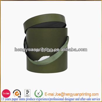 Custom Round Hat Boxes With Lids Round Carton Box