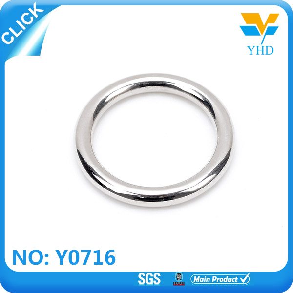 Factory direct sale Zinc alloy hardware fitting D ring,O ring high end for handbags/purse/briefcase