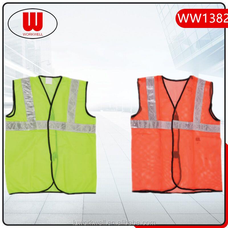 Free sample reflective security vest women