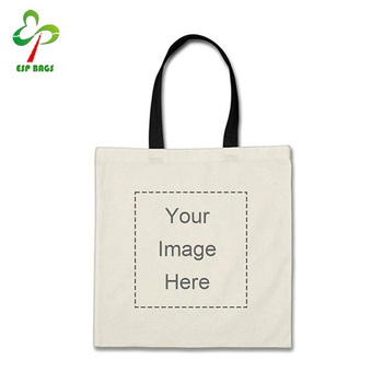Custom personalized jumbo tote bag design your own photo or message print  folding cotton shopping bag db7157e15d