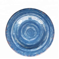 Wholesale market new arrival size optional full print melamine catering serving dishes