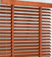 2016 Good product classical faux wood blinds, wood blinds from factory