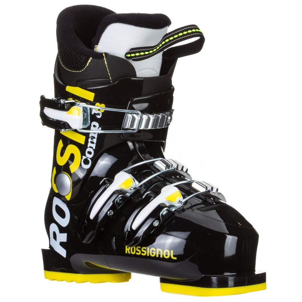 90f25c8911 Get Quotations · Rossignol Comp J3 Ski Boots Kids Sz 1 (20.5)