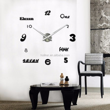new fanshion designs wall clock mechanism and diy projects clock with high quality young town movement