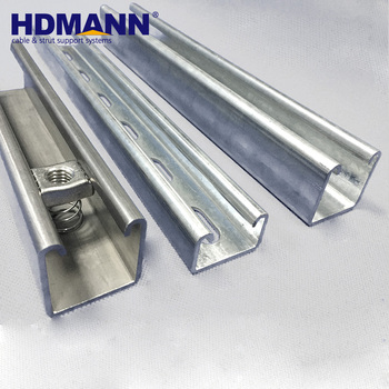High Quality Powerful Slotted Hdg Unistrut Channel Strut Fitting - Buy  Strut Fitting,Slotted Unistrut Channel,Hdg Unistrut Channel Product on