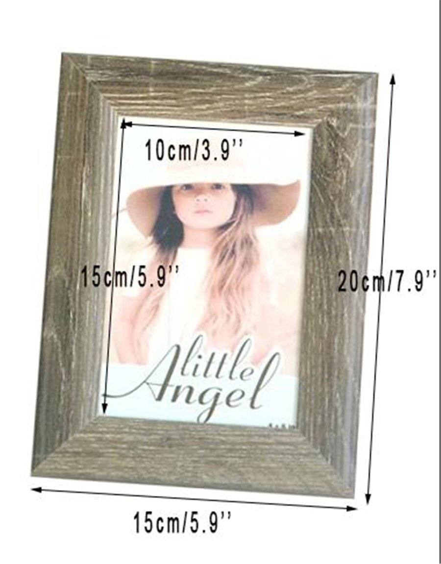 Fits 6x8 Pictures Monolike Paper Photo Frames 6x8 Inch Black 15 Pack