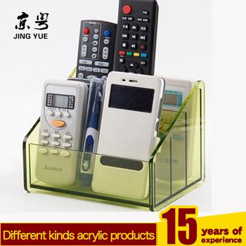 Tabletop TV/Air Conditioner Pmma Plexiglass Acrylic Remote Control Holder