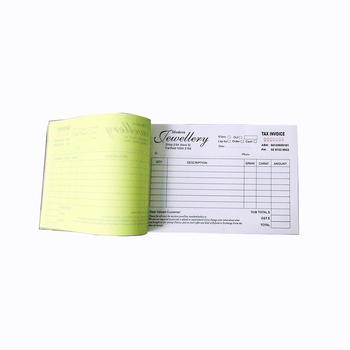 Custom Carbonless Duplicate Paper Invoice Form Printing Buy - Custom carbonless invoice forms