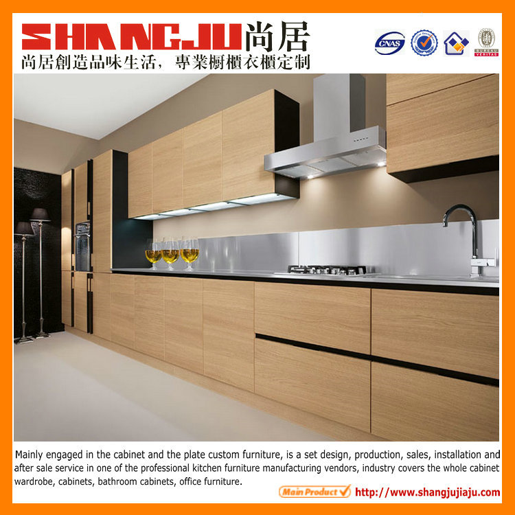 Complete Kitchen Cabinet Set: Melamine Board Carcase Material And Kitchen Cabinets Type