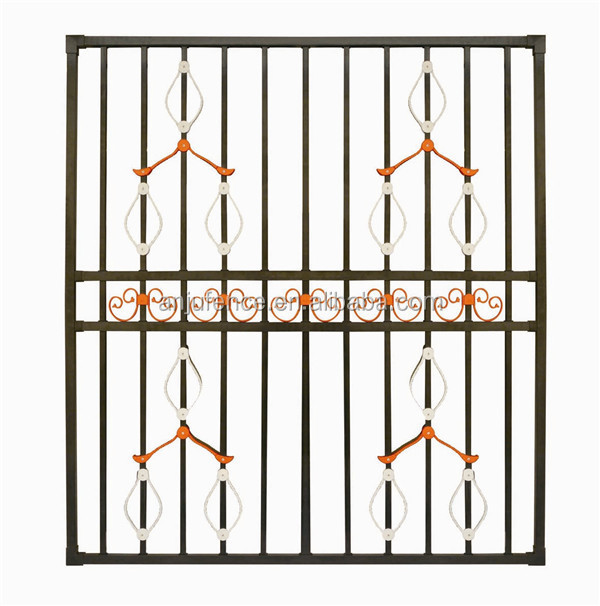Sw 004 alibaba china latest steel window grill design for for Modern zen window grills design