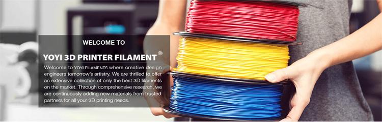 Filament 3d printer plastic pla filament 1.75 pla for 3d printing