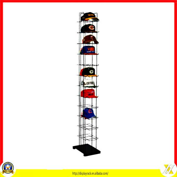 Hat rack for closet