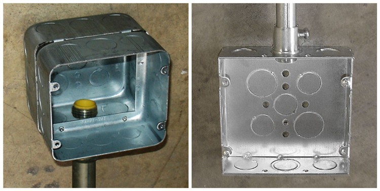 junction box typeelectrical outlet boxes steel boxesoutlet junction box Electrical steel junction box type outlet boxes : j box electrical - Aboutintivar.Com