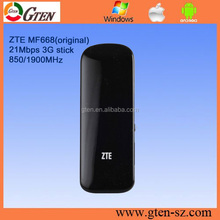 21Mbps original unlocked zte MF668 ZTE MF668 3.5g wireless modem
