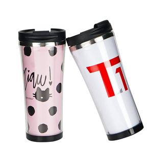 Stainless Steel Photo Travel Mug Changed Insert Paper