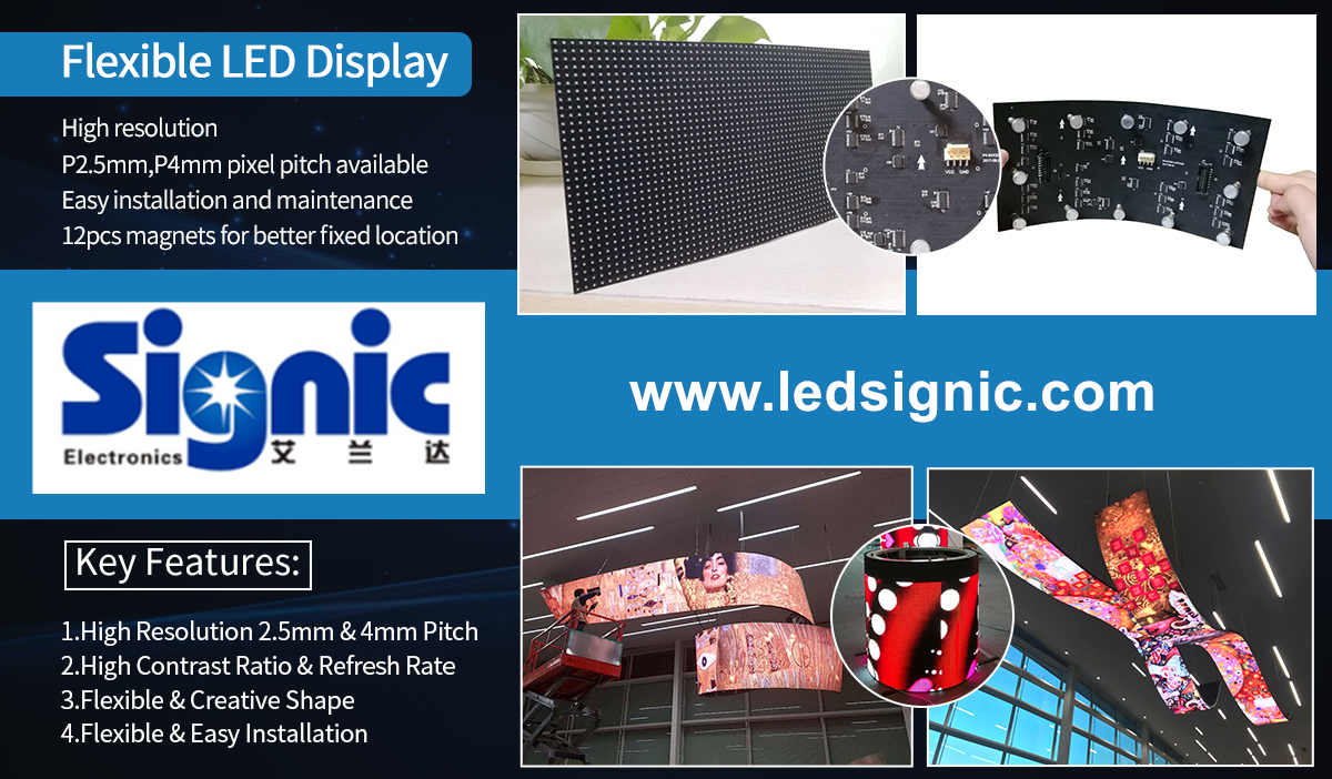 module strip small stage tv screen pure soft full curve programmable panels curtain advertising video flexible led screen