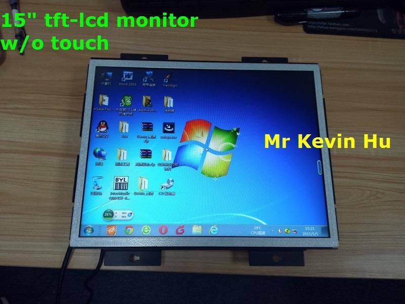 15 Pulgadas Lcd Monitor 12 V,Legible Monitor Del Marco Abierto Para ...