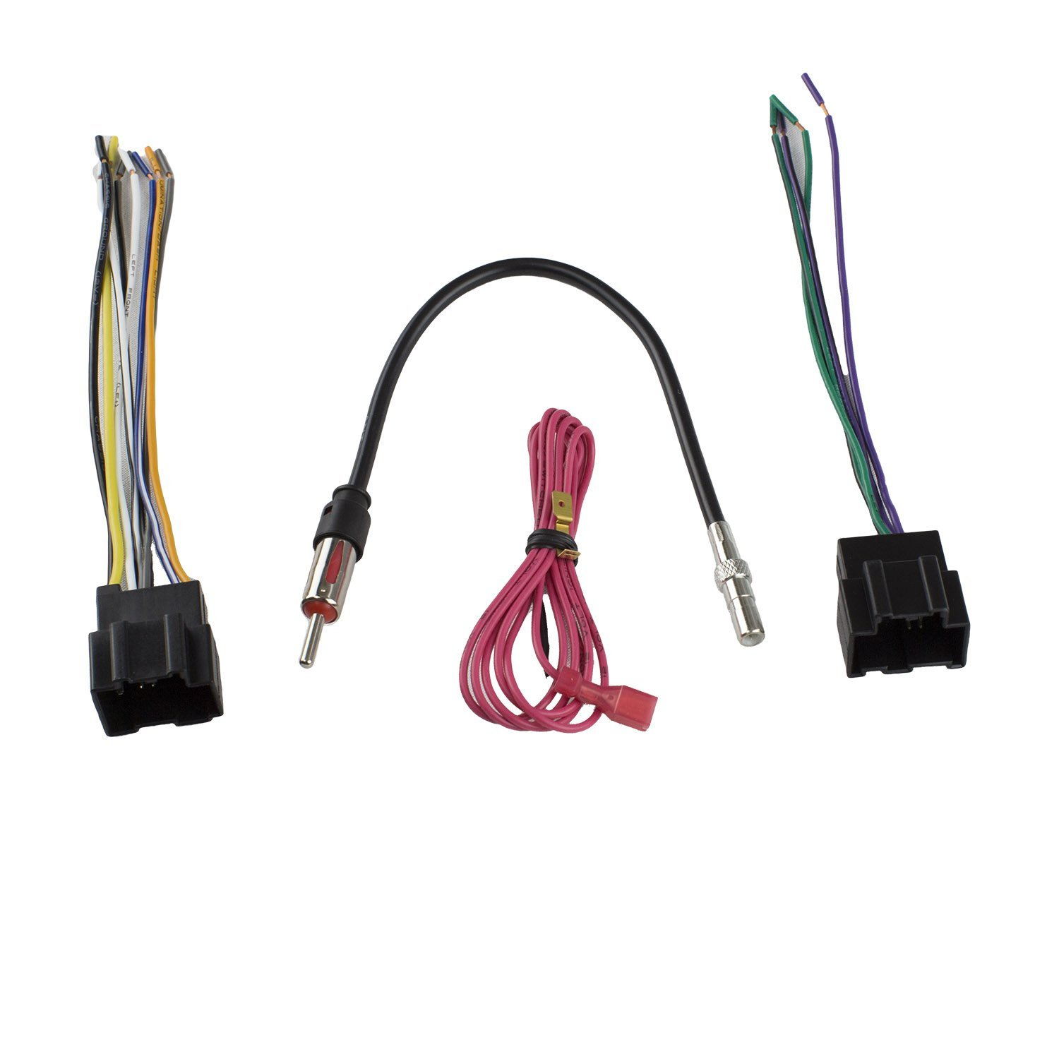 get quotations � novosonics gmf-406+cr1 car stereo wiring harness to install  aftermarket stereo